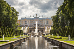 St. Petersburg park Royalty Free Stock Photo