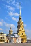 St Petersburg. Peter och Paul domkyrka Royaltyfri Bild