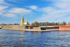St. Petersburg. Peter and Paul Fortress Royalty Free Stock Image