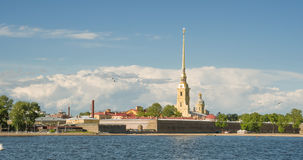 St. Petersburg. Peter and Paul Fortress Royalty Free Stock Photography