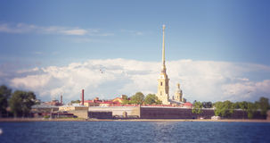 St. Petersburg. Peter and Paul Fortress Stock Photo