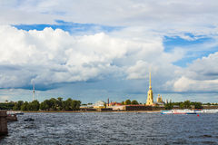 St- Petersburg, Peter- und Paul-Festung lizenzfreies stockfoto