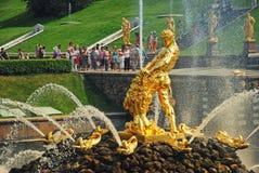 st petersburg peterhof дворца федерирования русский Стоковое Изображение RF
