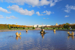 St. Petersburg, Peterhof Royalty Free Stock Photos