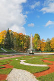 St. Petersburg, Peterhof. lower Park Stock Images