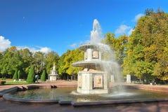 St. Petersburg, Peterhof. Roman fountains Royalty Free Stock Image