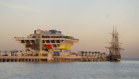 St. Petersburg Pier royalty free stock images