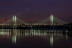 St Petersburg, pont obuhovskiy de Bolshoy Photographie stock
