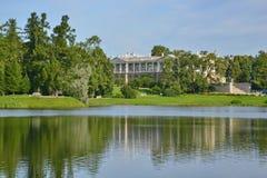 St Petersburg Pushkin, Catherine park Royaltyfria Bilder