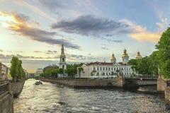 St Petersburg Rússia fotografia de stock