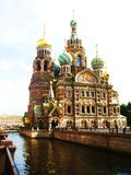 St Petersburg, Rússia, catedral do Jesus Cristo Foto de Stock