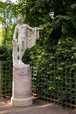 St Petersburg, Rússia - 27 de julho de 2016: A estátua Apollo Belvedere, cópia foto de stock royalty free