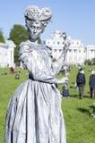St Petersburg, Rússia - 4 de junho de 2017: Festival do international VII do ` do parque de Elagin do ` dos teatros da rua Foto de Stock