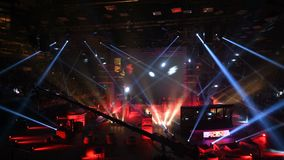 ST PETERSBURG, RÚSSIA - 28 DE OUTUBRO DE 2017: Greve do contador do EPICENTRO: Evento desportivo ofensivo global do cyber apresen filme