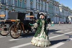 ST PETERSBURG, RÚSSIA - JULHO, 20 2015: Construção do estado maior geral Fotos de Stock Royalty Free