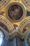 St Petersburg, Rússia, vista interior do St Isaac Cathedral Fotos de Stock