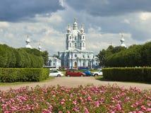 St. Petersburg, Resurrection Smolniy monastery Royalty Free Stock Photos