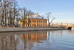 St. Petersburg. River Fontanka Embankment Stock Photo