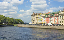 St. Petersburg, river Fontanka Royalty Free Stock Image