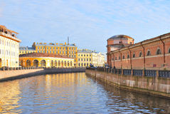 St. Petersburg. River Moika Stock Photos