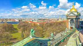 St Petersburg from the roof Royalty Free Stock Photos