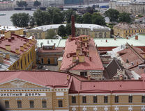 St Petersburg roofs Stock Photos