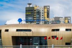 St Petersburg Rosja, Czerwiec, - 03 2017 centrum biznesu Bałtycka perła Fotografia Stock