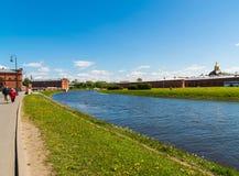 St Petersburg Rosja, Czerwiec, - 04 2017 Kronverkskiy korytkowy i artyleryjski muzeum Fotografia Stock
