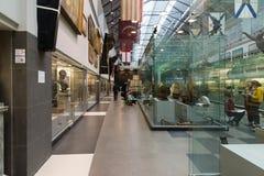 St Petersburg Rosja, Czerwiec, - 02 2017 Morski muzeum w Kryukov Koszaruje Obrazy Stock