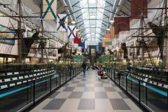 St Petersburg Rosja, Czerwiec, - 02 2017 Morski muzeum w Kryukov Koszaruje Obraz Royalty Free