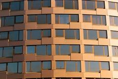 St Petersburg, Rosja - 28 2017 Czerwiec: projekt nowożytne fasady w St Petersburg Obrazy Stock
