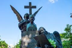 ST PETERSBURG ROSJA, CZERWIEC, -, 2015: THAIKOVSKY grób obraz stock