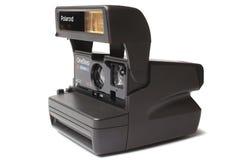 ST PETERSBURG ROSJA, Septembe, - 01, 2015: Polaroidu Jeden kroka Zamknięty 600 film Up Zdjęcie Stock