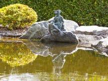 ST PETERSBURG ROSJA, SIERPIEŃ, - 04, 2016: Fotografia Kappa japończyka wody attr Fotografia Royalty Free