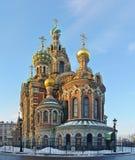 St. Petersburg, Rosja, zdroje przy krwią Zdjęcia Royalty Free