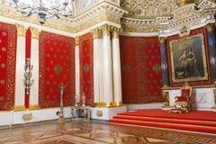 ST PETERSBURG, RUSIA - 23 DE FEBRERO: Museo de ermita del estado, interior, el 23 de febrero de 2017 Fotografía de archivo