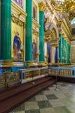 ST PETERSBURG, RUSIA - 26 DE JULIO DE 2014: Turistas en el inter Imagen de archivo libre de regalías