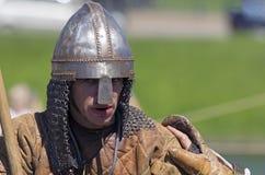 St Petersburg, Rusia - 30 de mayo de 2015: Leyendas del ` del festival del ` noruego de Vikingos Imágenes de archivo libres de regalías