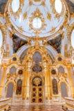 St Petersburg, Rusia - 12 de mayo de 2017: El interior del palacio del invierno de la ermita del estado en St Petersburg, ermita  Foto de archivo