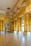 St Petersburg, Rusia - 12 de mayo de 2017: Interior de la ermita del estado en StPetersburg, Rusia La ermita del estado fue funda Imagenes de archivo