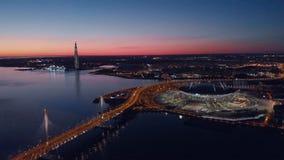 St Petersburg, Rusia E almacen de metraje de vídeo