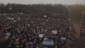 ST PETERSBURG, RUSIA, EL 26 DE ABRIL DE 2017 Protesta anti rusa de Putin