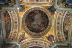 St Petersburg, Rusia, interior del St Isaac Cathedral Imagen de archivo