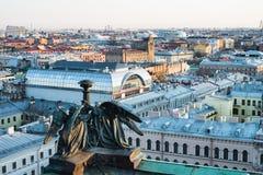 St Petersburg Rusia Panorama de la ciudad Fotos de archivo libres de regalías