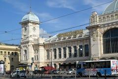 ST Petersburg, Rusland Het station van Vitebsk Royalty-vrije Stock Afbeelding