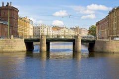St. Petersburg, brug stock foto's