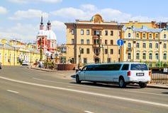 St Petersburg, Rusland Lagere Zwaanbrug over het Zwaankanaal in Centraal District van St. Petersburg Rusland Stedelijk Landschap stock fotografie