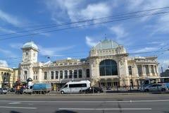 ST Petersburg, Rusland Mening van het station van Vitebsk Stock Fotografie