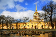 St Petersburg, Russia. Admiralty building, St Petersburg, Russia royalty free stock photography
