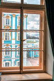 ST. PETERSBURG, RUSSIA-APREL 24 2016: A physical office of lyceum in Pushkin. Royalty Free Stock Image